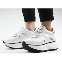 Chaussures Femme Baskets mode Alexander Smith CHELSEA bianco-argento