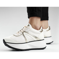 Chaussures Femme Baskets mode Alexander Smith CHELSEA bianco-oro