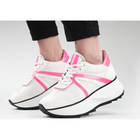 Chaussures Femme Baskets mode Alexander Smith CHELSEA bianco-rosa fluo