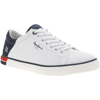 Chaussures Homme Baskets mode Pepe jeans MARTON LOW PMS30632 Blanc