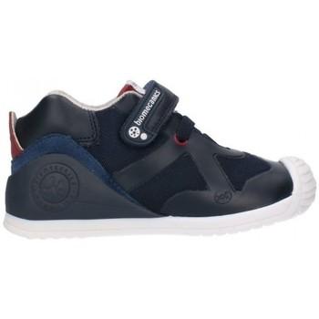 Chaussures Garçon Bottes Biomecanics 191168 Niño Azul marino bleu
