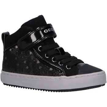 Chaussures Fille Baskets montantes Geox J744GI 0DHAS J KALIS Negro