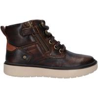 Chaussures Garçon Bottes Geox J947SA 0JHMW J RIDDOCK Marr?n