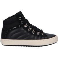 Chaussures Fille Bottines Geox J944GH 05422 J KALISPERA Negro