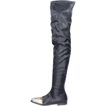 Chaussures Femme Bottes Moma BK302 Noir
