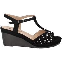 Chaussures Femme Sandales et Nu-pieds Melluso X033 NOIR