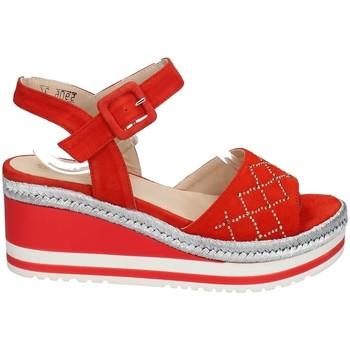 Chaussures Femme Sandales et Nu-pieds Melluso HR70733 ROUGE