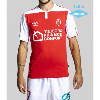 Vêtements Enfant T-shirts & Polos Umbro Maillot Stade De Reims Home Replica Junior 2020/2021 ROUGE