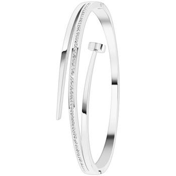 Montres & Bijoux Femme Bracelets Sc Crystal B2130-ARGENT Argenté
