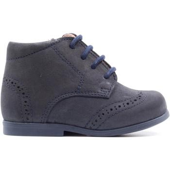 Chaussures Enfant Boots Boni & Sidonie Chaussure premiers-pas en nubuck - MAE Daim Bleu Marine
