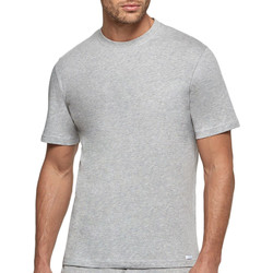 Vêtements Homme T-shirts manches courtes Impetus T-shirt homme col rond pur coton Essentials gris Gris