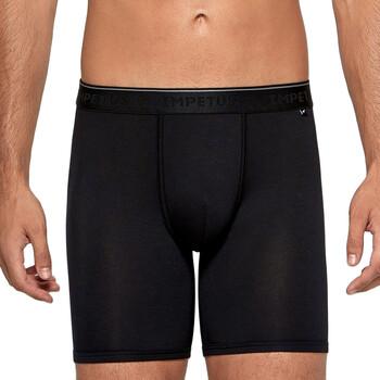 Sous-vêtements Homme Boxers Impetus Travel Boxer long homme en lyocell Travel noir Noir