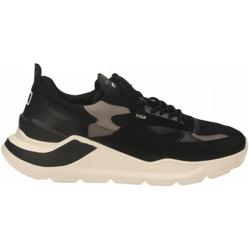 Chaussures Homme Baskets mode Date FUGA MESH black