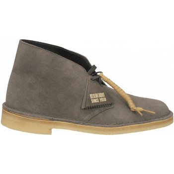 Chaussures Homme Boots Clarks DESERT BOOT M slate-grey