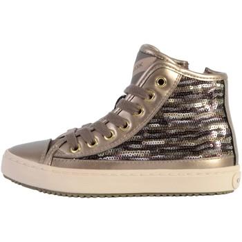 Chaussures Femme Baskets mode Geox Basket Montante /Fille J Kalispera G. D - Pail+Prl GBK Lead