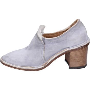 Chaussures Femme Escarpins Moma bottines daim gris