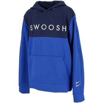 Vêtements Garçon Sweats Nike Swoosh oth ft junior swear Bleu moyen