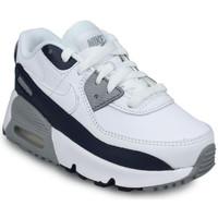 Chaussures Garçon Baskets basses Nike Air Max 90 LTR Bébé Blanc Blanc
