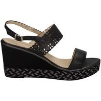 Chaussures Femme Sandales et Nu-pieds Melluso HR70807 NOIR