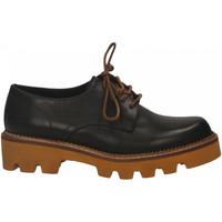 Chaussures Femme Derbies Mat:20 VITELLO nero