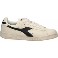 Chaussures Baskets mode Diadora GAME L LOW WAXED c5147-bianco-rosso