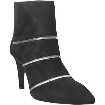 Chaussures Femme Bottines Brenda Zaro F3436 Noir velours