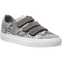 Chaussures Femme Baskets basses K.mary Clany Taupe métallisé cuir