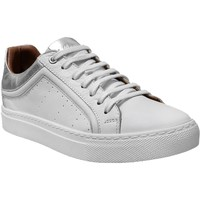 Chaussures Femme Baskets basses K.mary Clan Blanc/Argent