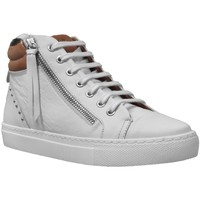 Chaussures Femme Baskets montantes K.mary Clade Blanc