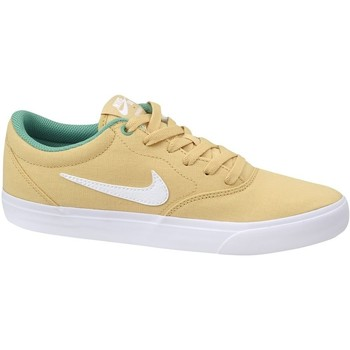 Chaussures Homme Baskets basses Nike SB Charge Solarsoft Txt Beige