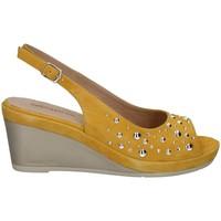 Chaussures Femme Sandales et Nu-pieds Melluso HR70530 JAUNE