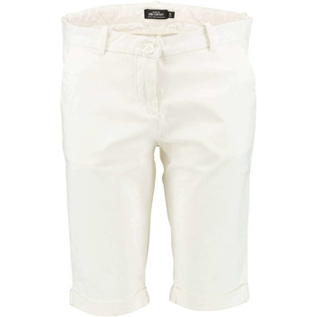 Vêtements Femme Shorts / Bermudas LTB Chino Court A Revers Us Hodges  Beige Ecru