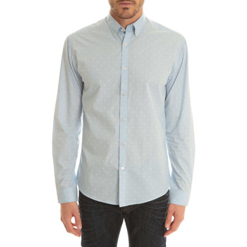 Chemises manches longues Selected Chemise Ml One  Bleu Clair