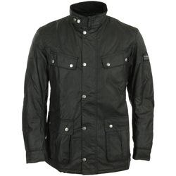 Vêtements Homme Parkas Barbour International Duke Wax Jacket noir