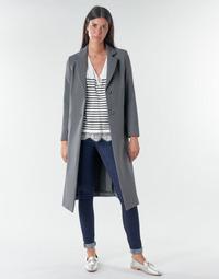 Vêtements Femme Manteaux Benetton  Gris