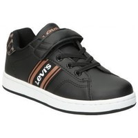 Chaussures Enfant Baskets basses Levi's ZAPATOS  KIDS BRANDON VELCRO  NIÑA NEGRO Noir