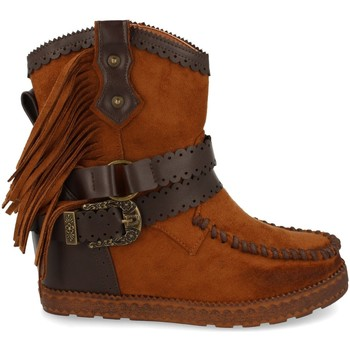 Chaussures Femme Bottines Tephani 1976A Camel