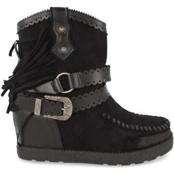 Chaussures Femme Bottines Tephani 1976A Negro