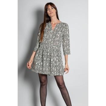 Vêtements Femme Robes courtes Deeluxe Robe FOSTINE Black Cashmere