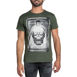 Vêtements Homme T-shirts manches courtes Deeluxe T-Shirt CRYSTAL Military
