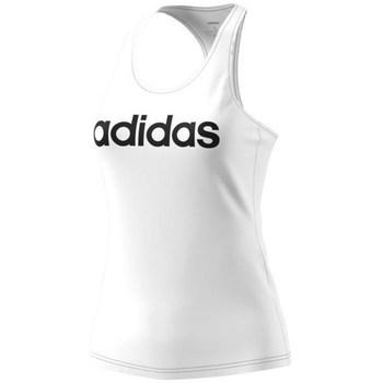 Vêtements Femme Débardeurs / T-shirts sans manche adidas Originals Ess Lin Slim Blanc