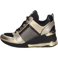 Chaussures Femme Baskets basses MICHAEL Michael Kors 43T0GEFS5D NOIR ET OR