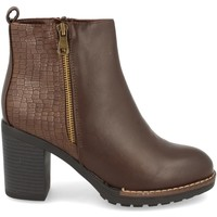 Chaussures Femme Bottines Clowse 9B1087 Marron