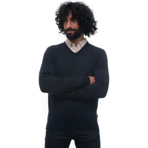 Vêtements Pulls Hugo Boss BARAM-50435452402 blu