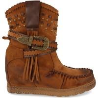 Chaussures Femme Bottines Ainy 9706 Camel