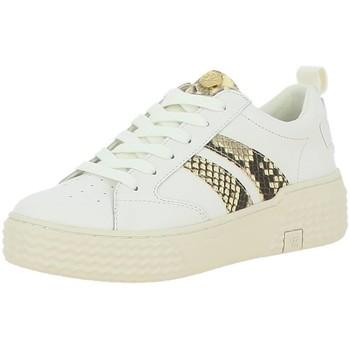 Chaussures Femme Baskets basses Palladium Manufacture EGO 03 LEA Blanc