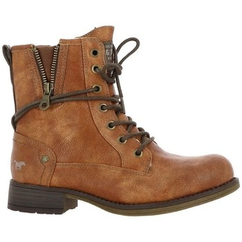 Chaussures Femme Bottines Mustang 5026-619 marron