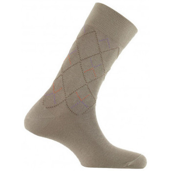 Accessoires Homme Chaussettes Kindy Mi-chaussettes all over losanges MADE IN FRANCE Corde