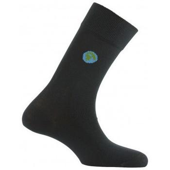 Accessoires Homme Chaussettes Kindy Mi-chaussettes Planète Noir