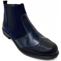 Chaussures Femme Bottines Folies Chelsea Plate NYTO Marine FOLIE'S bleu